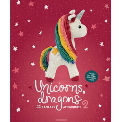 Unicorns, dragons and more fantasy 2, 14 søde figuer, engelsk garn